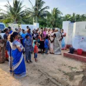 Murasumottai Community well dedication